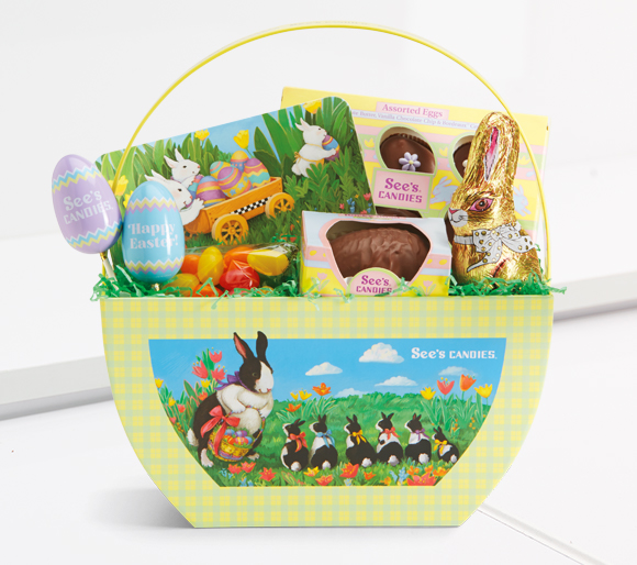 Easter Baskets and Easter chocolate Boxes