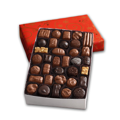 See's Gift Wrapped Chocolate Box