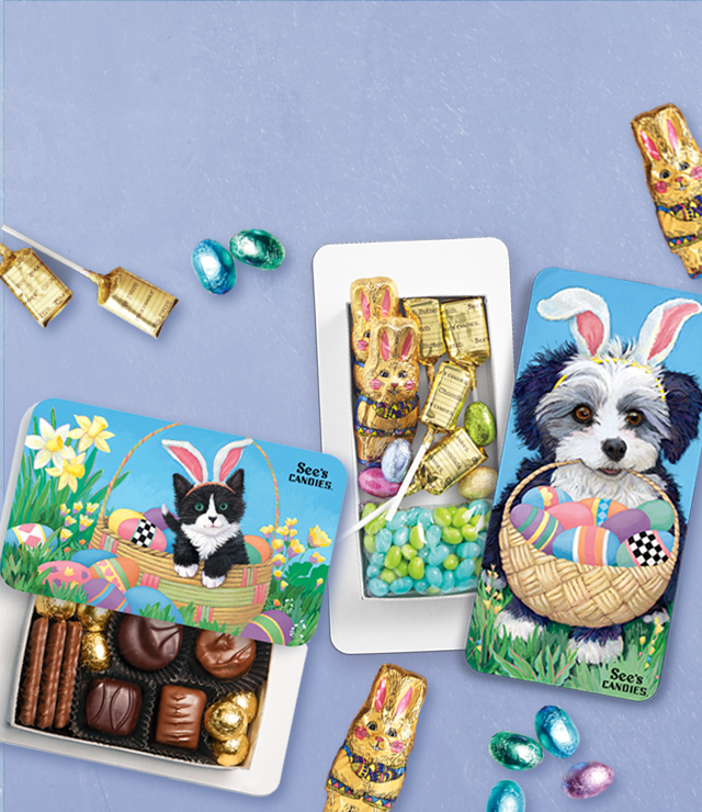 Easter Chocolate Boxes for Kids