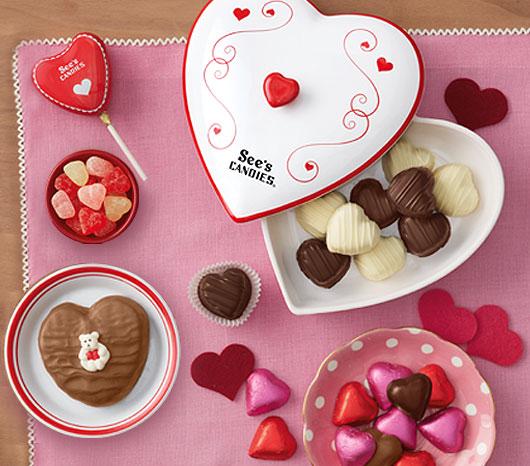 See's Valentine's Day Candies