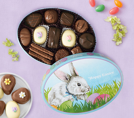 See's Easter Greetings Box