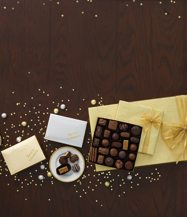 new years chocolate gifts