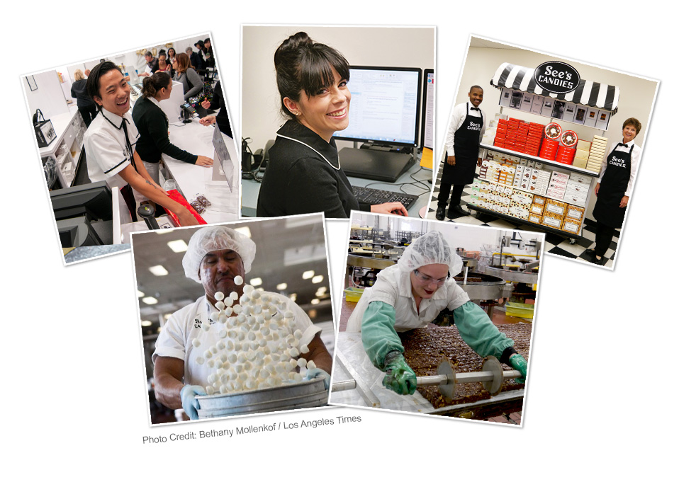 See's Candies Employees