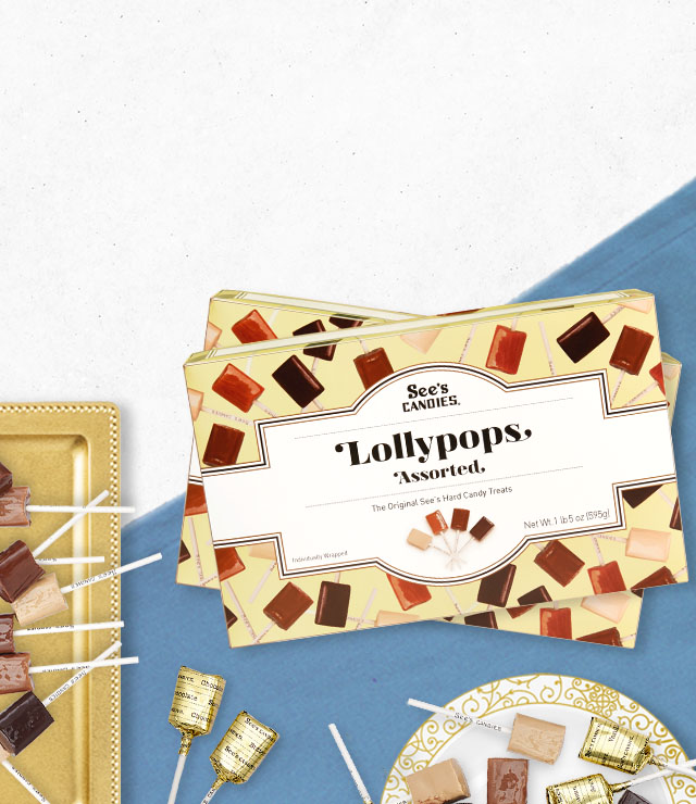 20% Savings on Select Lollypops