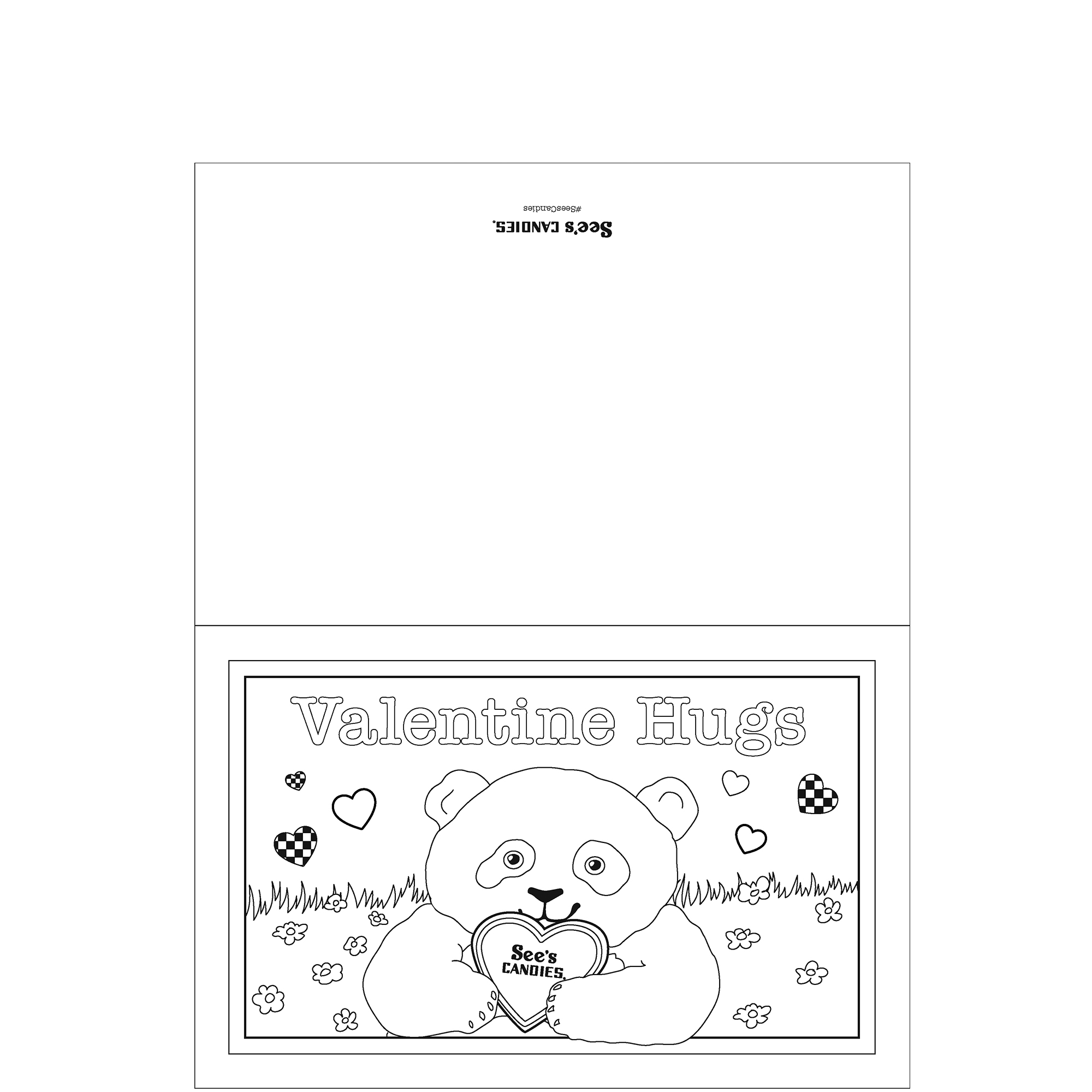 Valentine Hugs Card