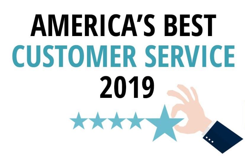 America's Best Customer Service in 2019