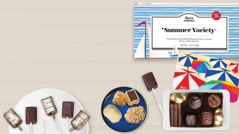 Chocolate Summer Gifts and Treats