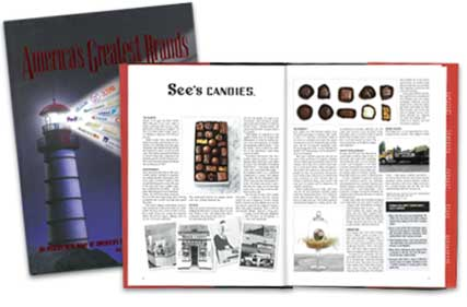 See's Candies article in America's Greatest Brands book