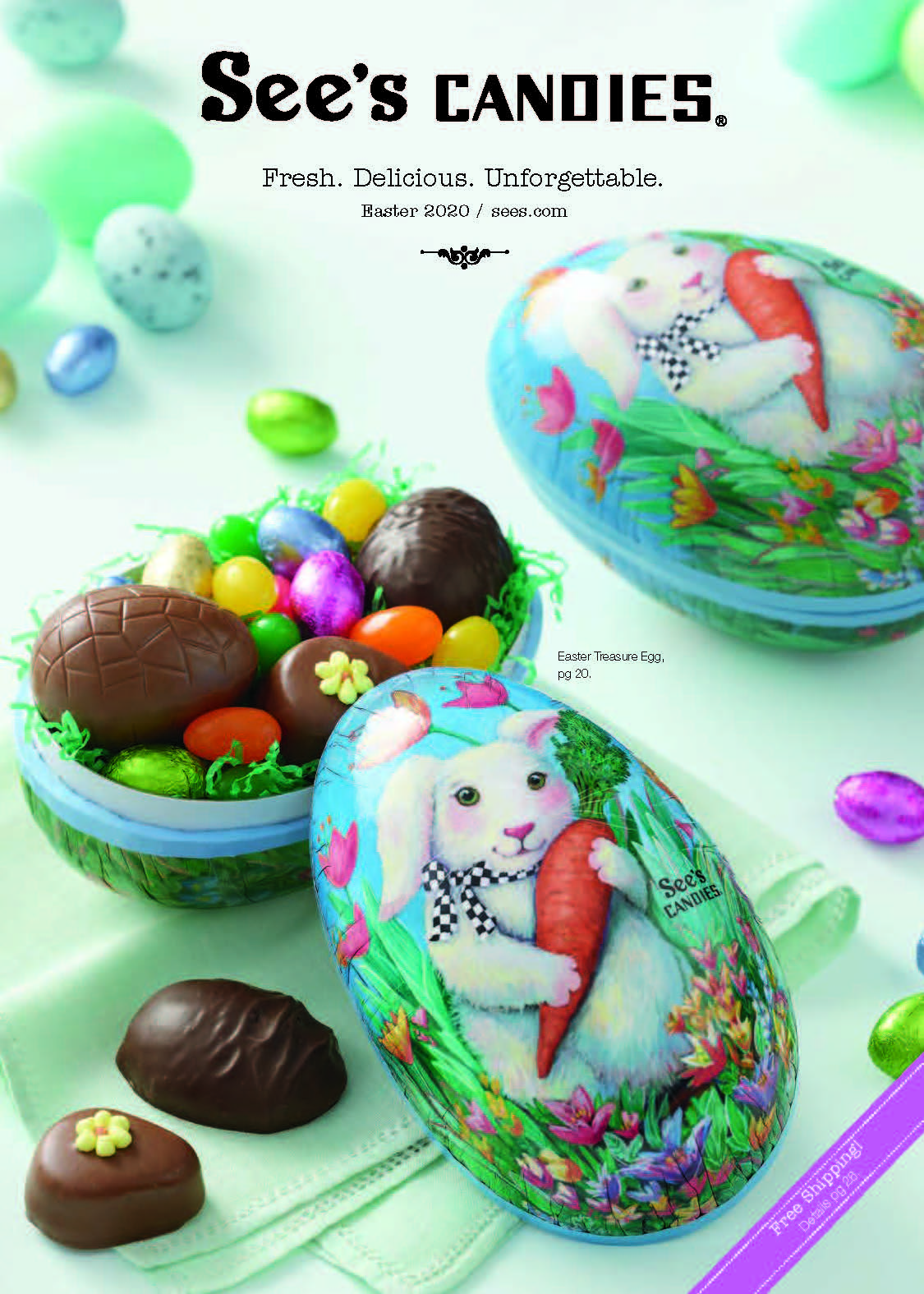 2020 See's Candies Easter Catalog
