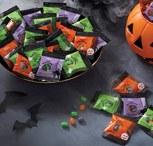 Sour Jelly Beans Trick or Treat Pack