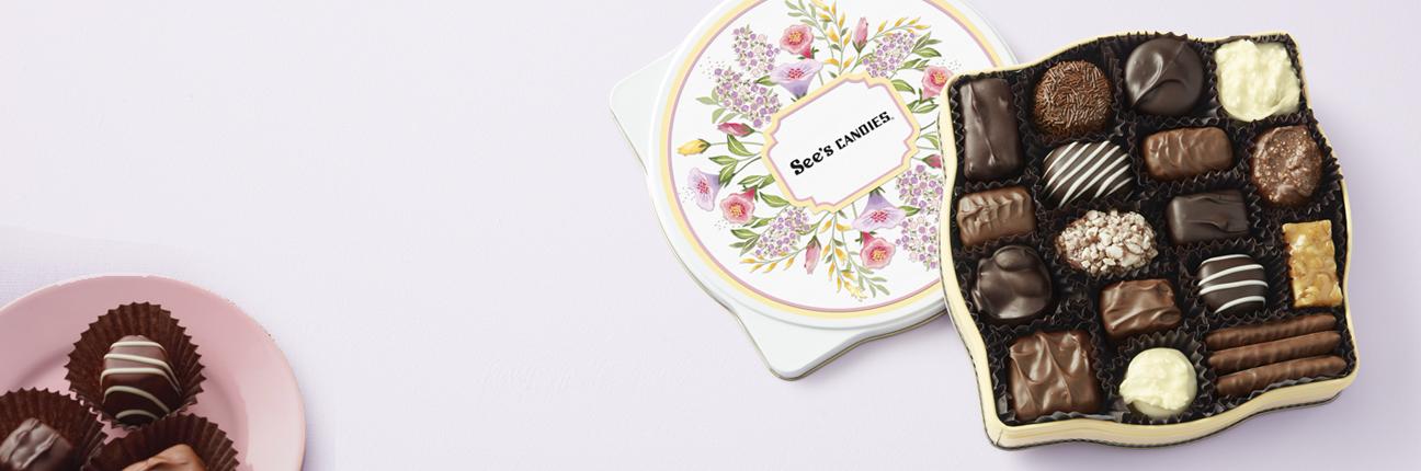 Sweet Bouquet Keepsake Tin