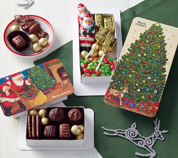 Chocolate Christmas Gifts