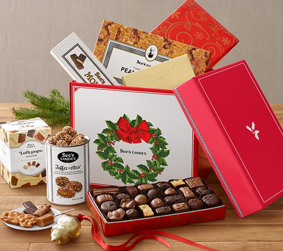 Christmas Chocolate Gift Packs